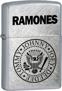Ramones - Logo Chrome Lighter