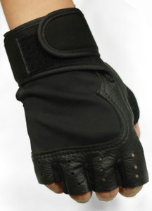 Solo Piel - Fingerless Gym Leather Gloves