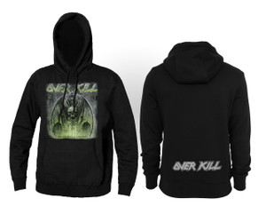Overkill White Devil Armory Hooded Sweatshirt * LAST ONES IN STOCK EVER*