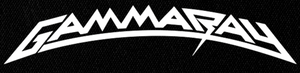 "Gamma Ray Logo 7x3"" Printed Patch"