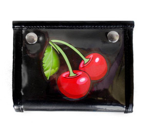 Dr. Frankenstein - Patent Leather Cherry Wallet