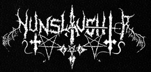 "Nunslaughter Logo 7x4"" Printed Patch"