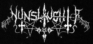 "Nunslaughter - Logo 7x4"" Printed Patch"