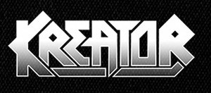 "Kreator Logo 6x3"" Printed Patch"