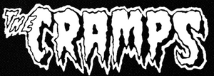 "Cramps Logo 8x3"" Printed Patch"