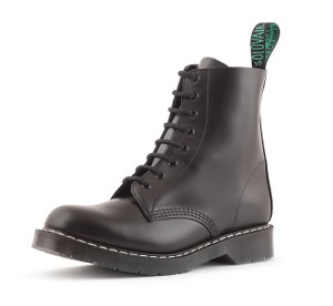 Solovair 8i Black Derby Boots *Made in England*