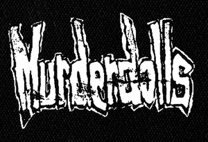"Murderdolls Logo 7x4"" Printed Patch"