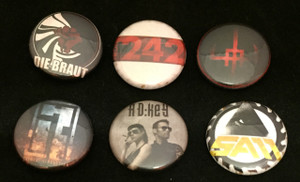 6 Piece Mixed Lot - Amduscia, Sam, Front 242 + More!