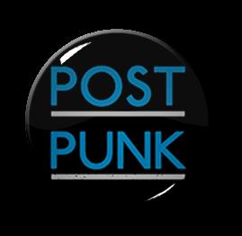 """Post Punk 1.5"""" Pin"""
