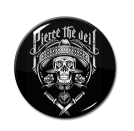 "Pierce the Veil - Mariachi 1.5"" Pin"