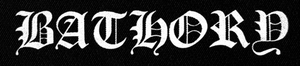 "Bathory Logo 10x3"" Printed Patch"