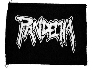 "Pandemia Logo 6x4"" Printed Patch"