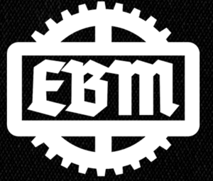 "EBM Gear Logo 6x5"" Printed Patch"