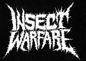 """Insect Warfare - Logo 5x5"""" Printed Patch"""