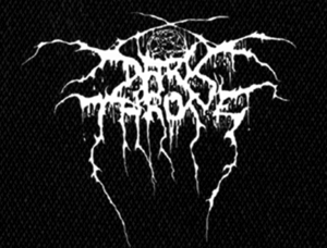 "Darkthrone Logo 5x4"" Printed Patch"