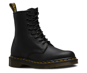 Dr. Martens 1460 Black Greasy 8 Eye Boot
