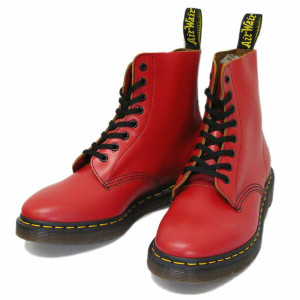 Dr. Martens Pascal Red 8-Eye Boot