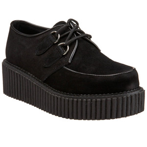Women's Black Creepers by Demonia