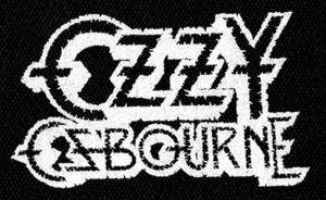 """Ozzy Osbourne Logo 6x4"""" Printed Patch"""