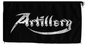 "Artillery Logo 7x4"" Printed Patch"