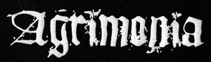 "Agrimonia Logo 8x3"" Printed Patch"
