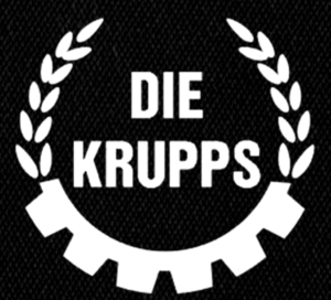 "Die Krupps Logo 5x5"" Printed Patch"