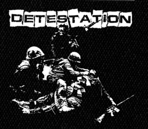 "Detestation Soldiers 5x5"" Printed Patch"