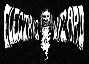 "Electric Wizard Logo 6x4"" Printed Patch"