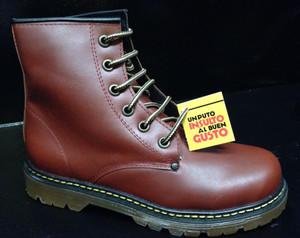 UPIABG Boots - 6i Tan Leather Unisex Boots