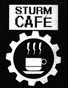 "Sturm Cafe Logo 4x6"" Printed Patch"