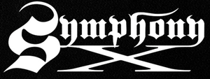 "Symphony X Logo 6x3"" Printed Patch"