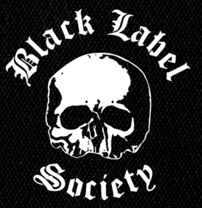 "Black Label Society Skull 5x5"" Printed Patch"