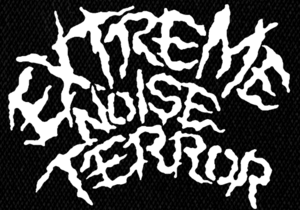 "Extreme Noise Terror 80's Logo 5x5"" Printed Patch"