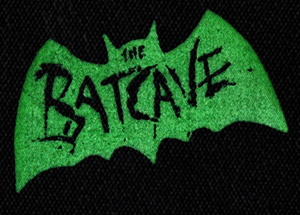 "Batcave - Logo 6x4"" Printed Patch"