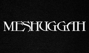 "Meshuggah Logo 5x3"" Printed Patch"