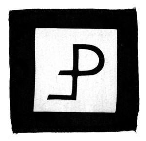 "Pouppee Fabrikk Logo 5x5"" Printed Patch"
