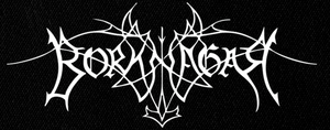 "Borknagar Logo 7x3"" Printed Patch"