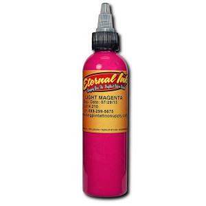Eternal Ink - Light Magenta 1/2 Ounce Tattoo Ink Bottle