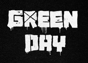 """Green Day Logo 5x4"""" Printed Patch"""