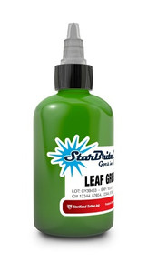 Starbrite Colors - Leaf Green 1/2 Ounce Tattoo Ink Bottle
