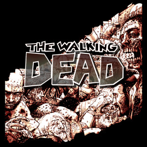 "The Walking Dead Comic 4x4"" Color Patch"