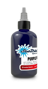 Starbrite Colors - Purple Vein 1/2 Ounce Tattoo Ink Bottle