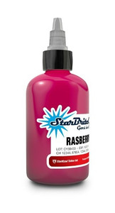 Starbrite Colors -Raspberry 1/2 Ounce Tattoo Ink Bottle