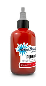 Starbrite Colors - Rude Rouge 1/2 Ounce Tattoo Ink Bottle