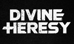 "Divine Heresy Logo 5x3"" Printed Patch"
