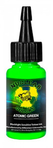 Mom's Ink - U.V. Blacklight Colors - Atomic Green 1/2 Ounce Tattoo Ink Bottle