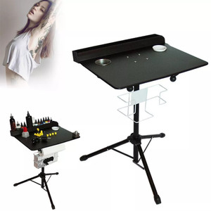 Adjustable Tri-Pod Table for Tattooing or Piercing