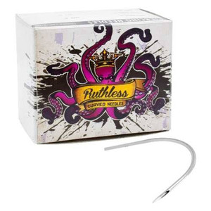 Ruthless - Curved Needle For Piercings with 50 Needles