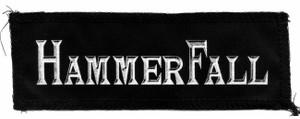 "Hammerfall Logo 7x3"" Printed Patch"