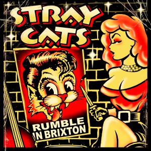 "Stray Cats - Rumble in Brixton 4x4"" Color Patch"